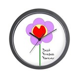 Cute Bff Wall Clock