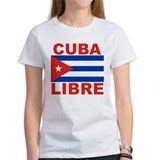 Cuba Libre Free Cuba Tee