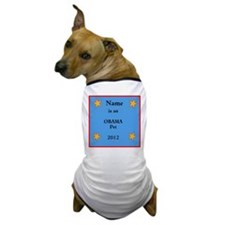 Personalized Obama Dog T-Shirt
