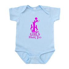 GIRL COON HUNTER Infant Bodysuit