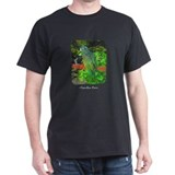 Pionus Art Black T-Shirt