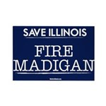 Fire Madigan Rectangle Magnet