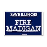 Fire Madigan Car Magnet 20 x 12