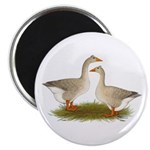 Tufted Buff Geese Magnet