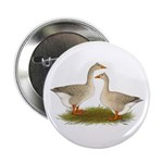"""Tufted Buff Geese 2.25"""" Button"""