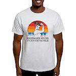 Tufted Buff Geese Organic Toddler T-Shirt (dark)