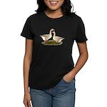 Tufted Buff Geese Women's Dark T-Shirt