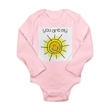 You Are My Sunshine Infant Creeper Long Sleeve Inf