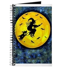 Scottie Moon Halloween Witch Journal