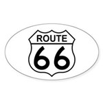U.S. Route 66 Oval Sticker