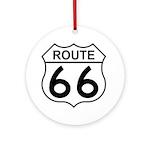 U.S. Route 66 Ornament (Round)