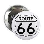 U.S. Route 66 Button