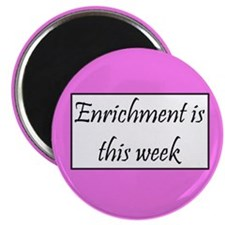 Enrichment this week Magnet