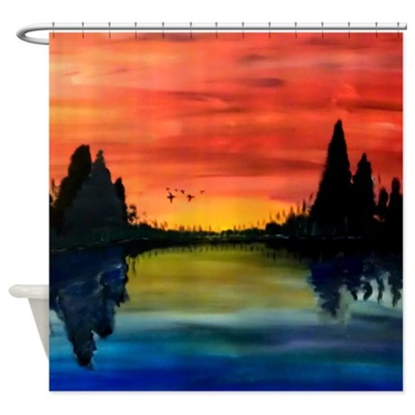 Lake Shower Curtain | Beso - Beso | Shopping Ideas and Style