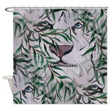 Wild Animal Tiger Shower Curtain