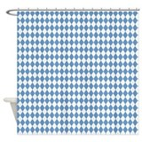 unc 4.png Shower Curtain