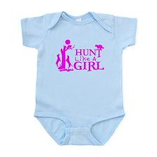 COON HUNTING GIRL Infant Bodysuit