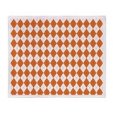 clemson 1.png Throw Blanket