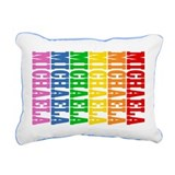 Rainbow Name Rectangular Canvas Pillow