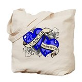 Colon Cancer Survivor Tote Bag