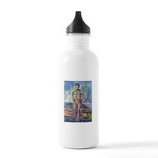 Paul Cezanne A Swimmer Water Bottle