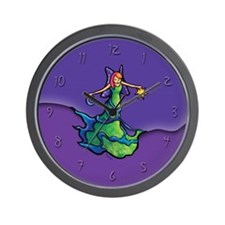 Earth Fairy Wall Clock