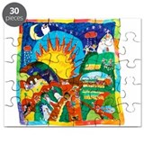 Guatemalan Sunrise Puzzle