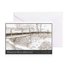 Raven Run Bridge Greeting Cards (Pk of 10)