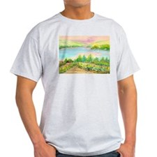 Keuka Lake Watercolor T-Shirt