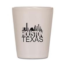 Houston Skyline Shot Glass