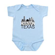Houston Skyline Infant Bodysuit