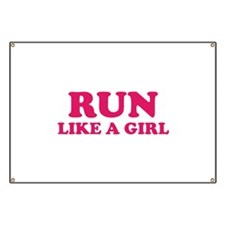 Run Like A Girl Banner