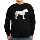 bullmastiff white.png Jumper Sweater