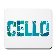 Cello Cracked Mousepad
