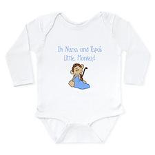 Nana, Papa's Monkey (blue) Baby Outfits