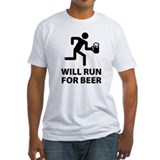 Will Run For Beer Shirt