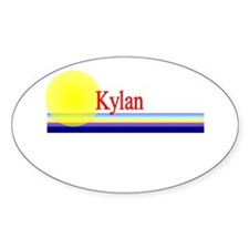 Kylan Oval Decal