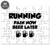 Running Pain Now Beer Later Puzzle