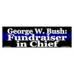 George W. Bush Fundraiser Bumper Sticker