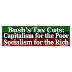 Socialism for the Rich Bumper Sticker