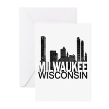 Milwaukee Skyline Greeting Cards (Pk of 10)
