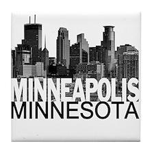Minneapolis Skyline Tile Coaster