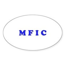 M F I C Merchandise Decal