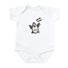 Hungary Penguin Infant Bodysuit