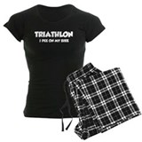 Triathlon I Pee On My Bike pajamas