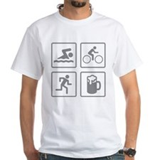 Swim Bike Run Drink Shirt