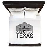 San Antonio Skyline King Duvet