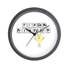 Science Wall Clock