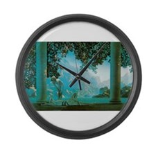 Maxfield Parrish Daybreak Large Wall Clock