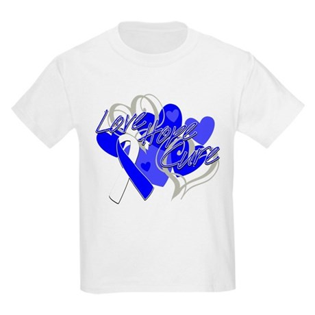 ALS Love Hope Cure Kids Light T-Shirt